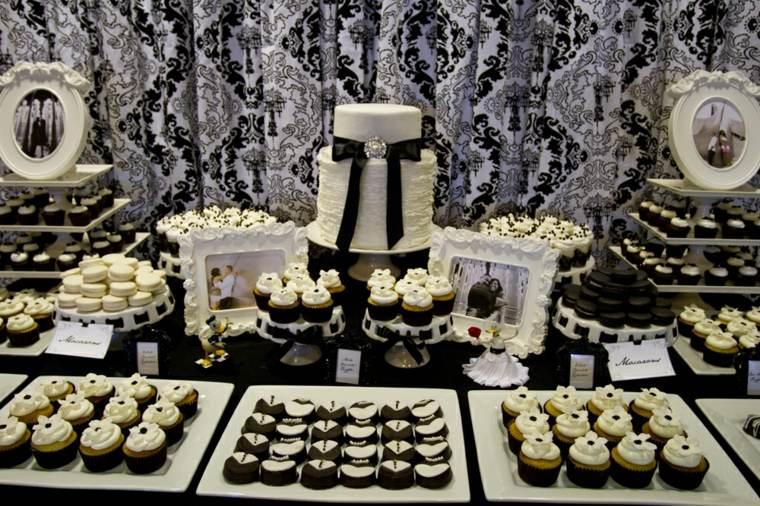 mesa de dulces para boda decoración