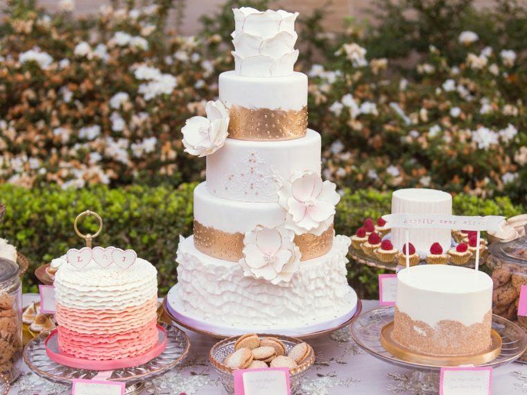 mesa de dulces para boda decorar interiores