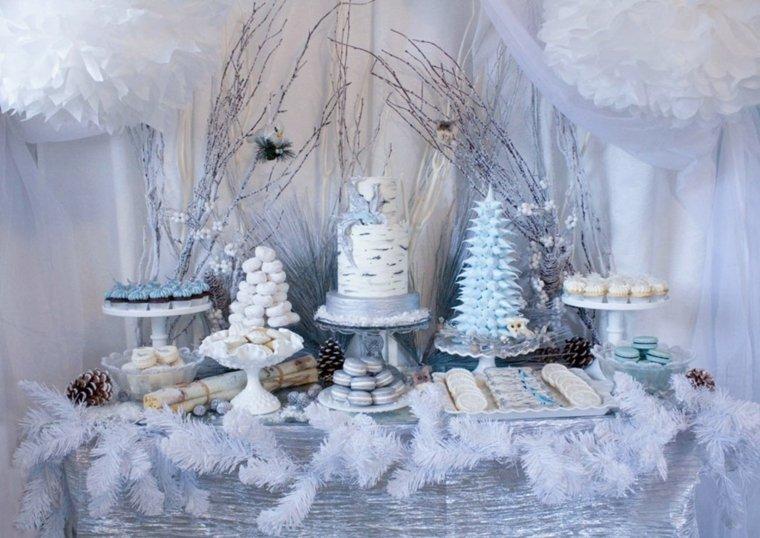 mesa de dulces para boda decorar