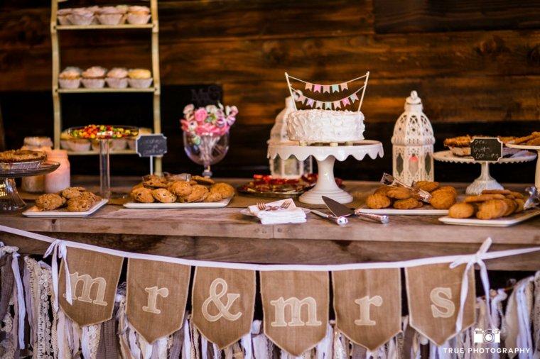 Mesa de dulces para boda para una decoraci n original for Decoracion para mesa dulce
