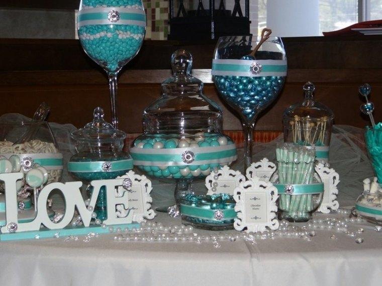 mesa caramelos bonitos colores