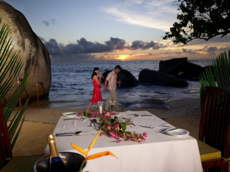 mesa romántica decorar san valentín