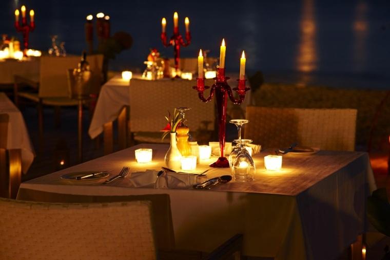mesa romántica dos