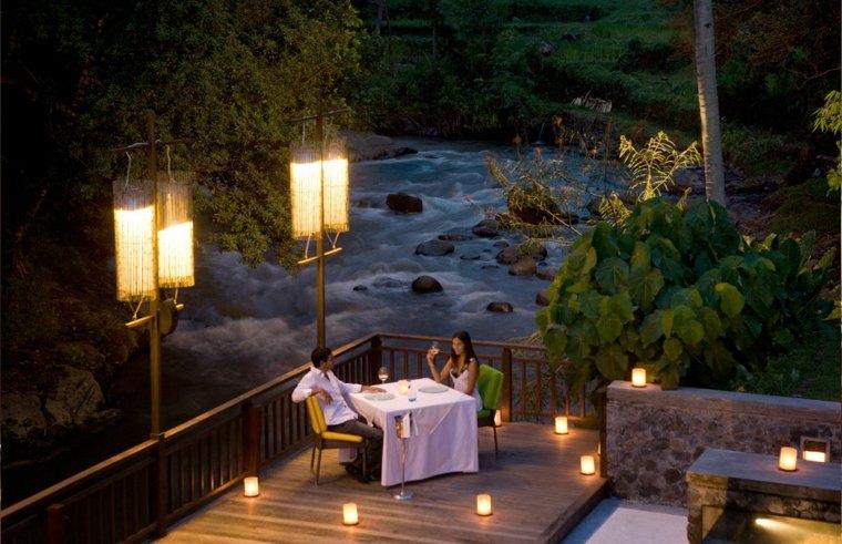 mesa romántica sorprender