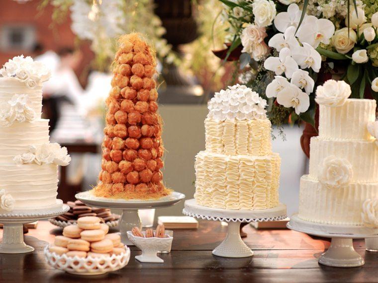 mesas de dulces para bodas decorar