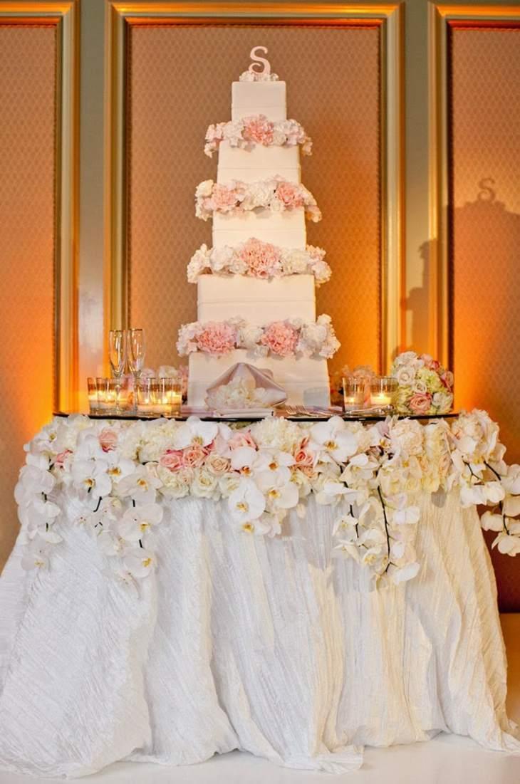 mesas de dulces para bodas elegantes muebles colores