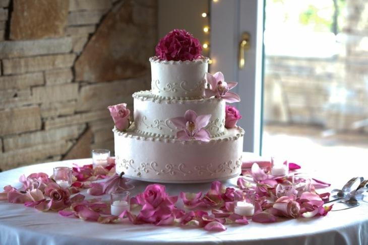 mesas de dulces para bodas paredes piedras lineas
