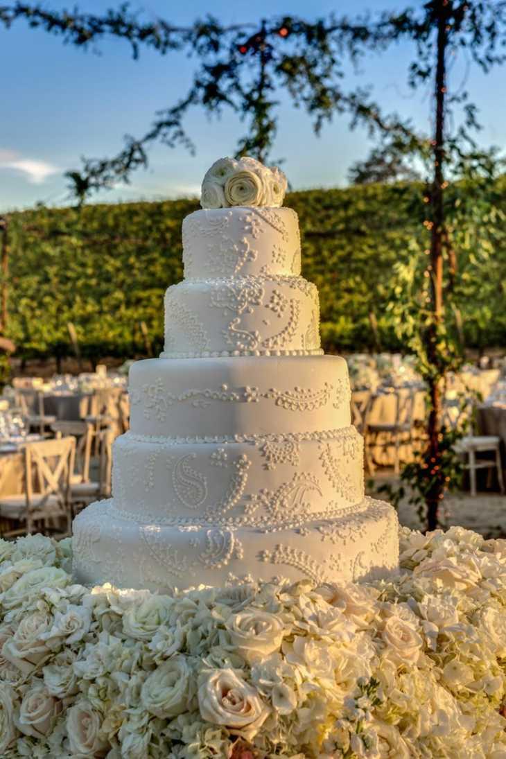 mesas de dulces para bodas rosas blanco plantas