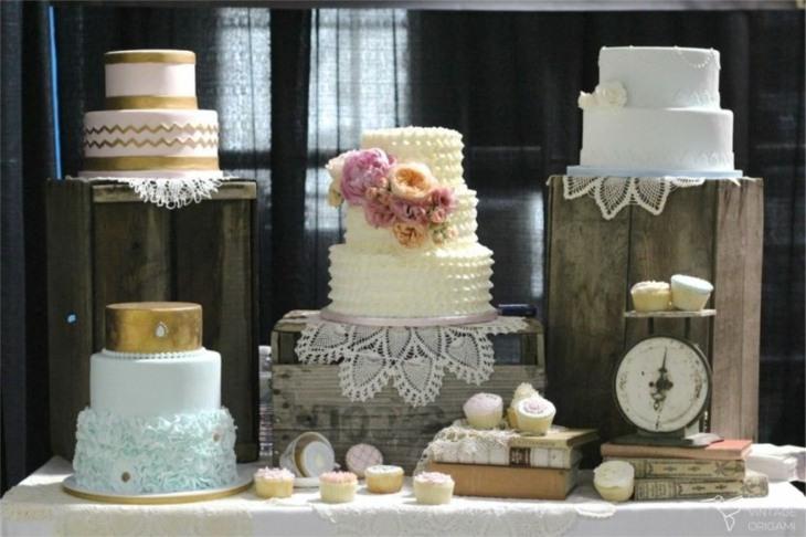mesas de dulces para bodas vintage presentacion ideas