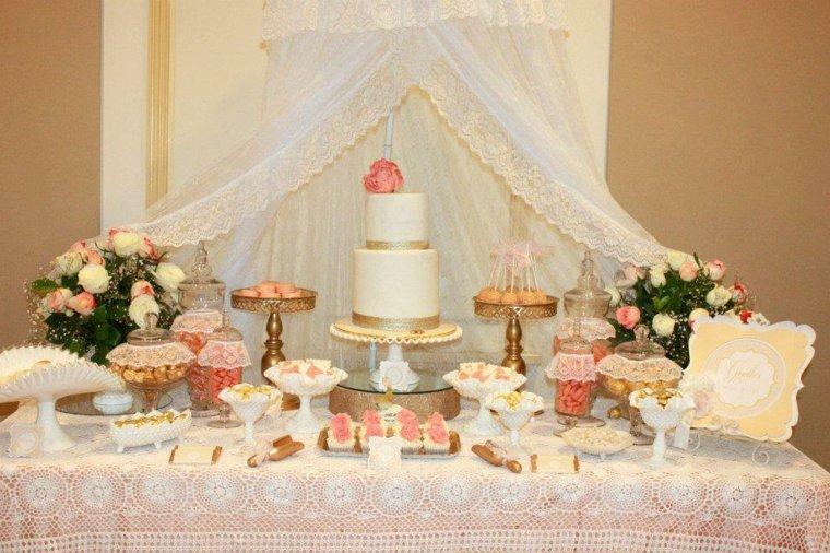 mesas dulces bodas decorar