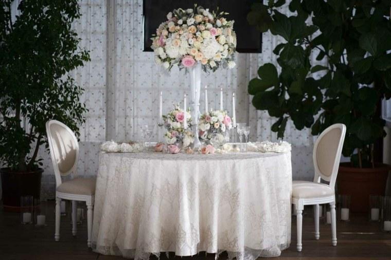 mesas dulces bodas con decoracin elegante al estilo clsico