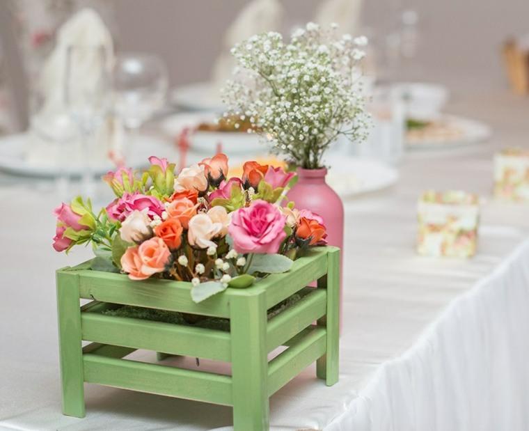 mesas dulces bodas diseno flores camino diseno original ideas