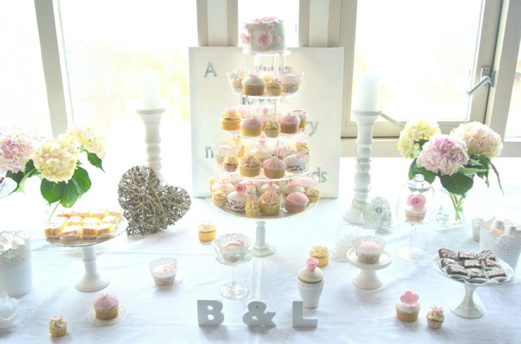 mesas dulces para bodas decoración