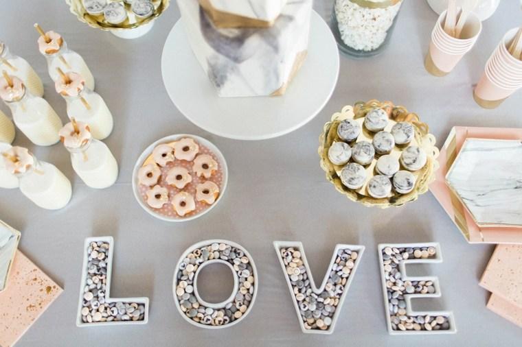 mesas dulces para bodas decoradas