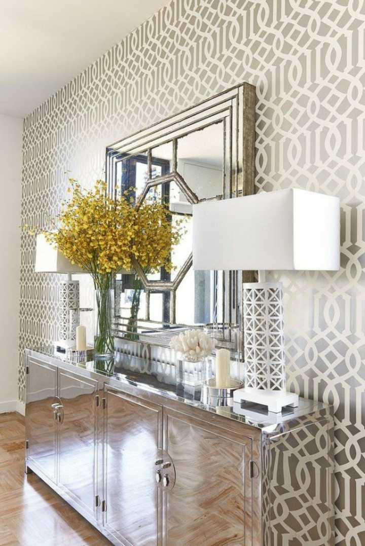 metalicos formas apredes conceptos lamparas