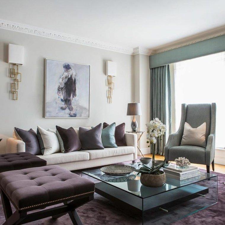muebles bonitos tonos apagados