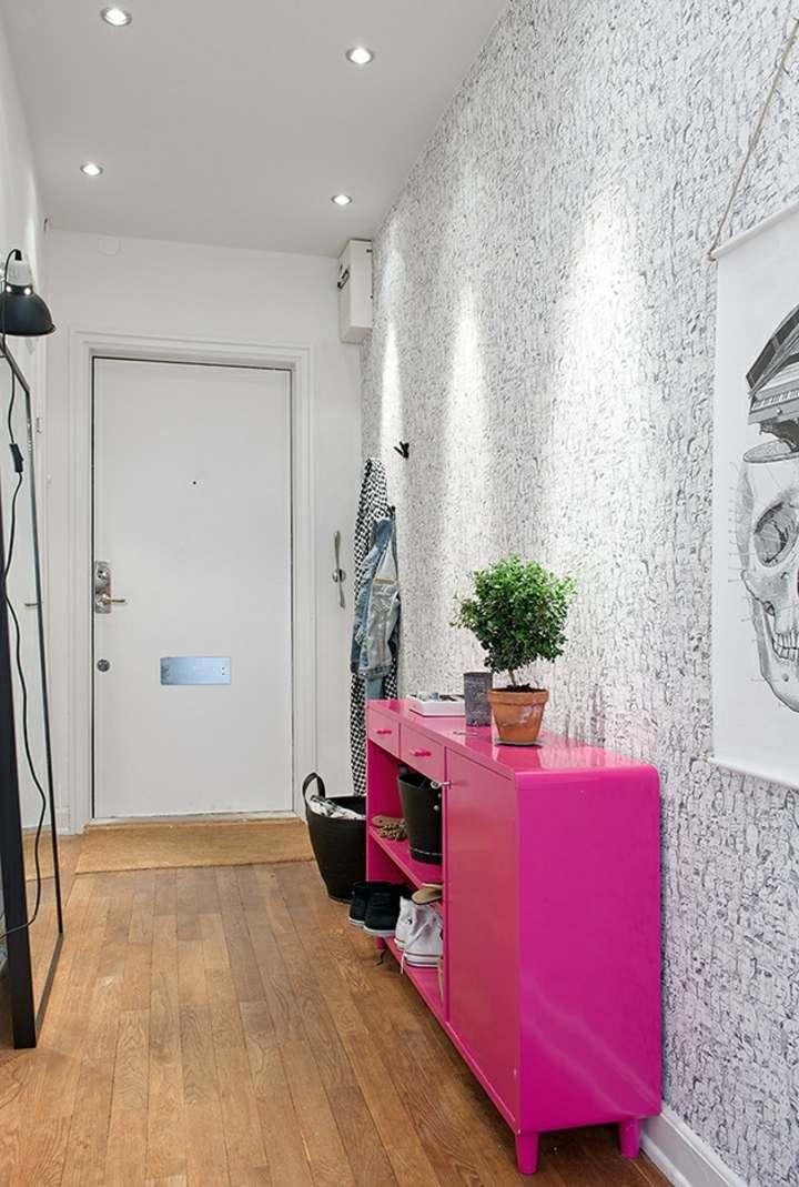 mueble contrastante paredes estilos efectos