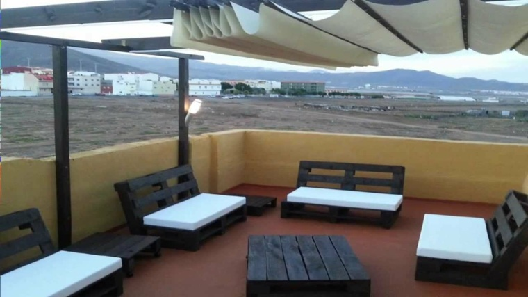 Chill out con palets dise os geniales que puedes hacer - Terraza palets chill out ...