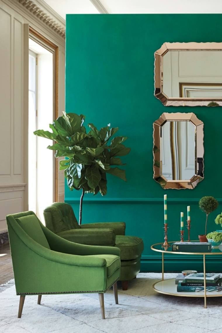 Muebles de dise o moderno de color verde para decorar for Muebles reciclados de diseno