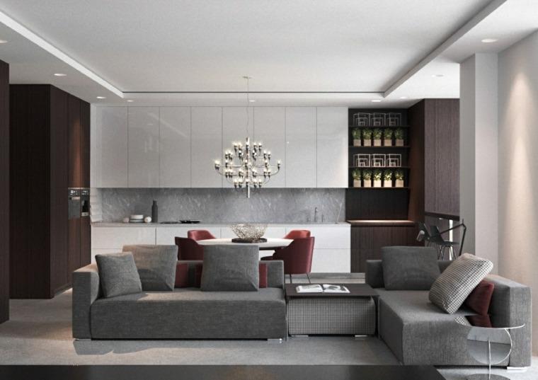 muebles de sala divisorios estilos ideas