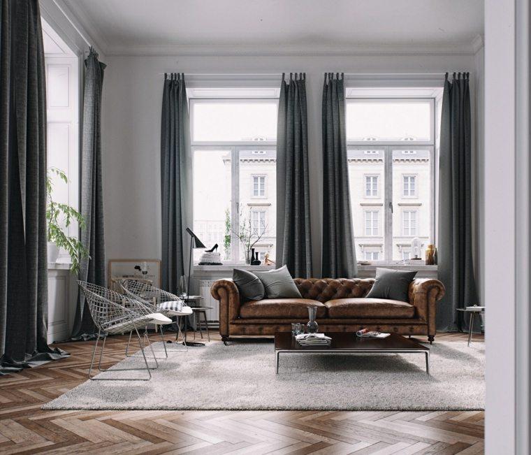 muebles de sala vintage moderno conceptos