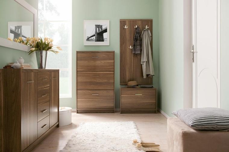 muebles entrada decoración moderna