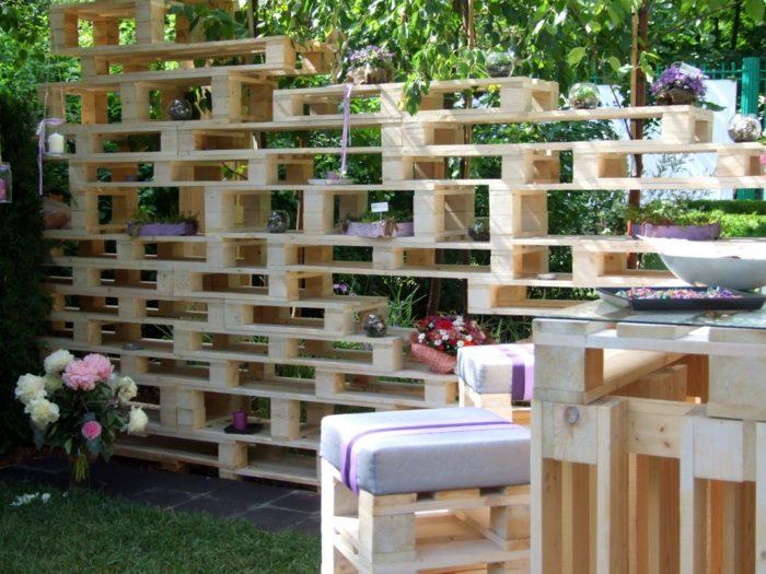 muebles madera original palets diseno original casa moderna ideas