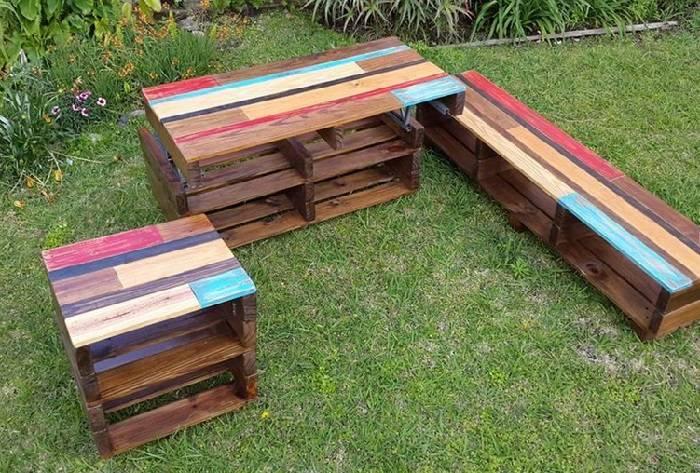 muebles palets diseno original opciones ideas