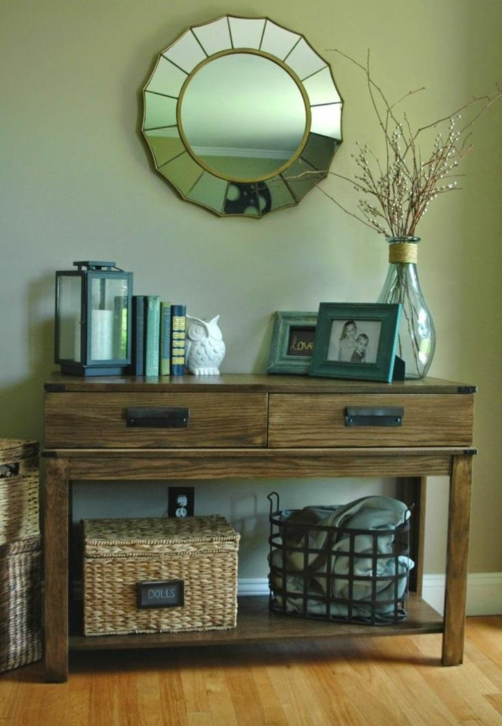 Muebles pasillo de entrada ideas para una buena primera for Espejos de diseno para entradas