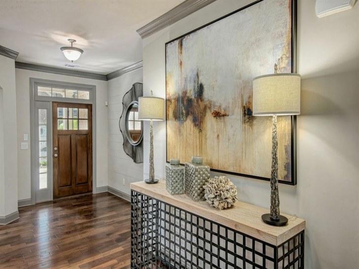 Muebles pasillo de entrada ideas para una buena primera for Decoracion espejos entrada casa
