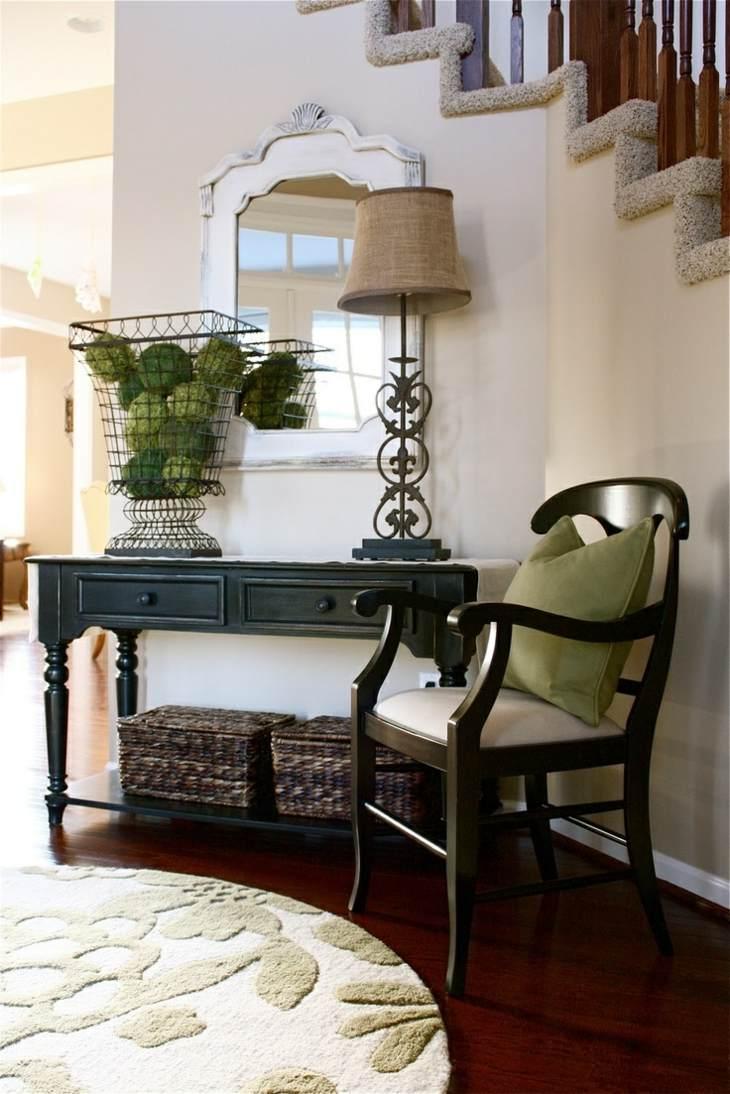 muebles pasillo entrada casa diseno silla ideas