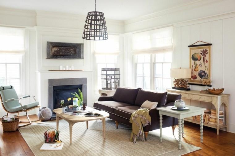muebles salón estilo retro