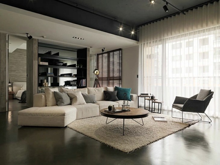 muebles separadores salones conceptos paredes
