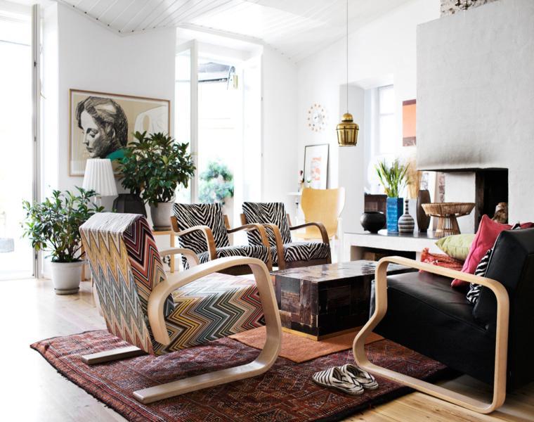 muebles diseño boho vintage
