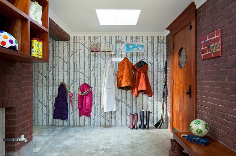 original diseño papel pintado para pasillos