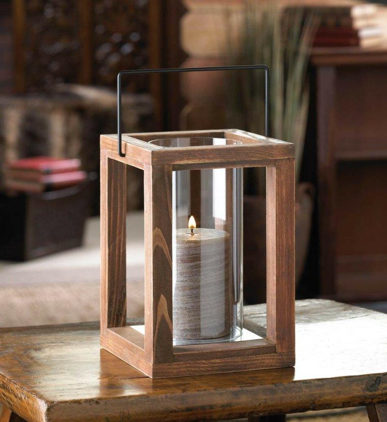 original diseño linterna madera