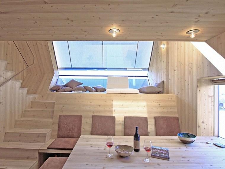 original interior apartamento loft madera