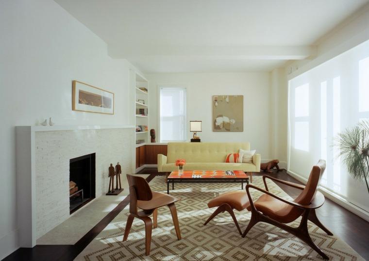 original sala estar estilo vintage