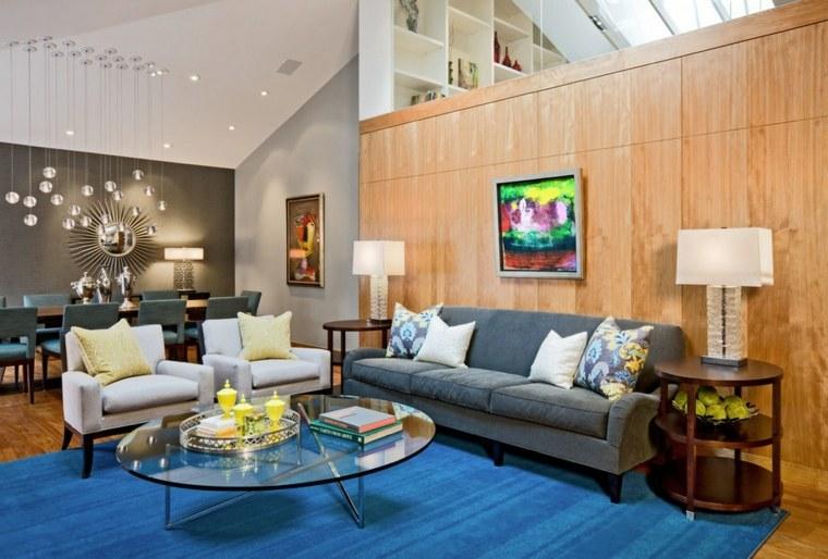 Estilo vintage para la sala de estar el estilo de los for Conjunto muebles salon
