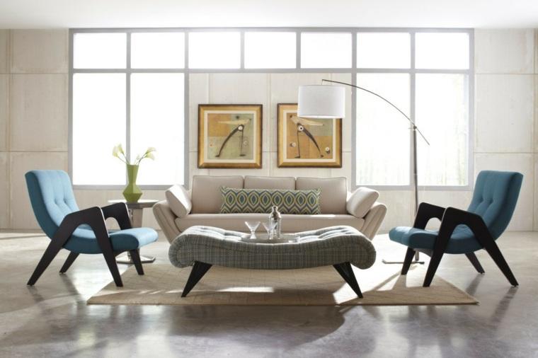 Estilo vintage para la sala de estar   el estilo de los años 50
