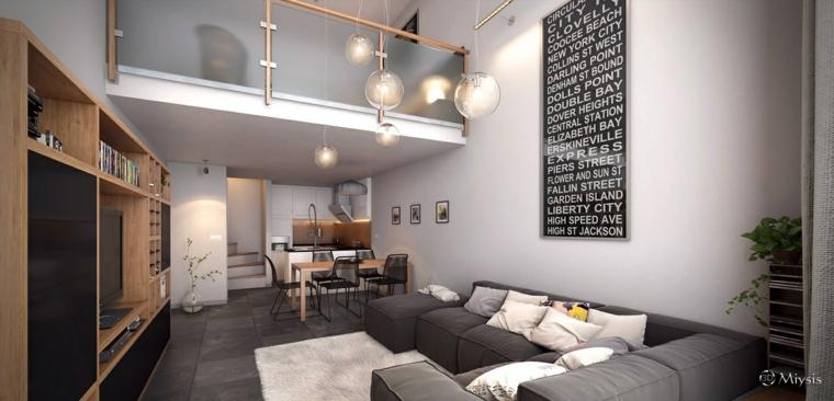 original decoración piso loft