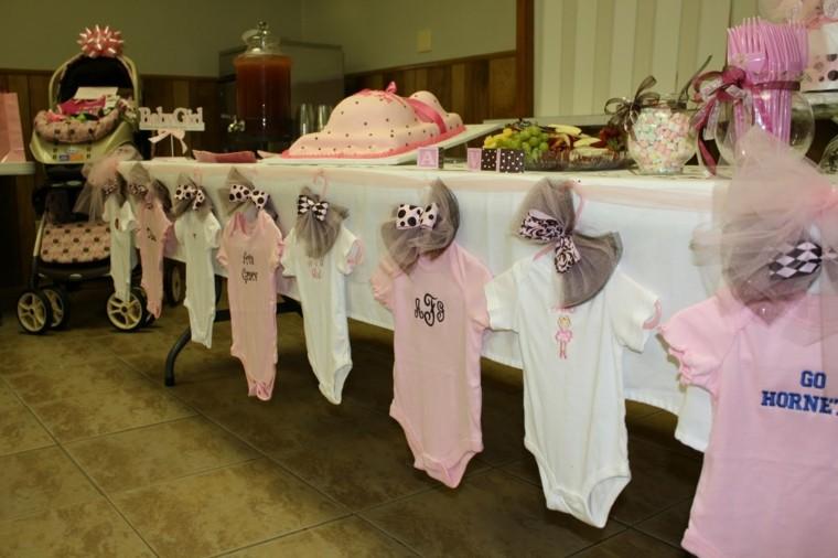 original decoración mesa bebe