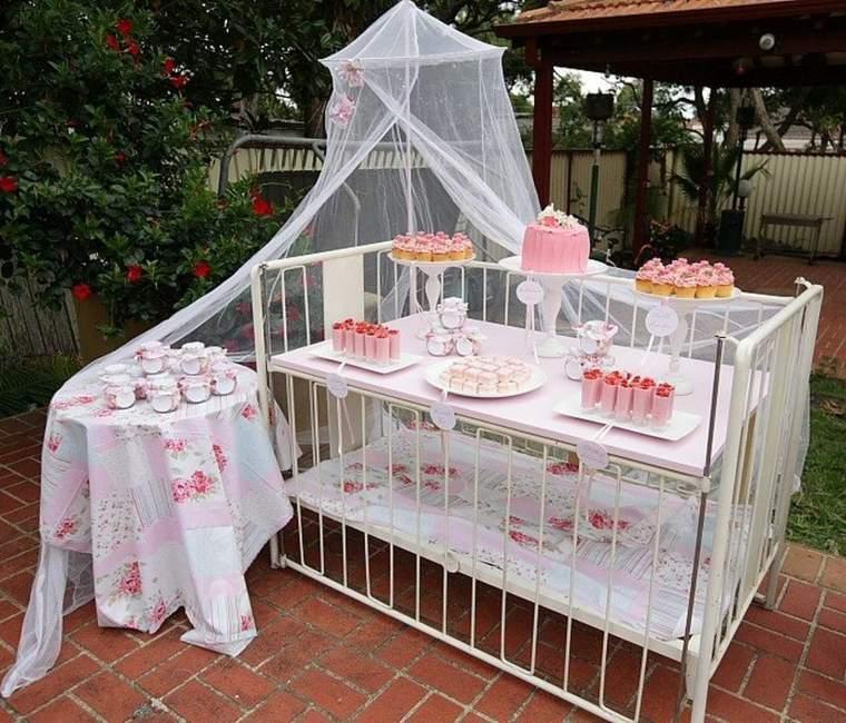 original decoración dulces jardin