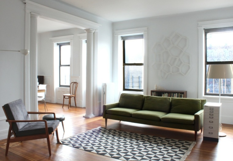 original diseño sofá verde