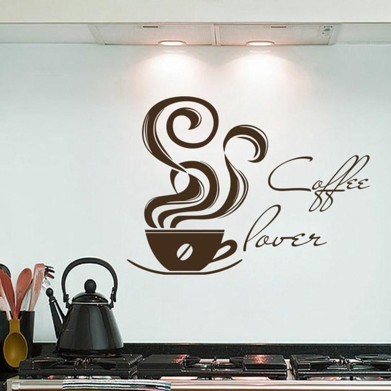 original vinilo forma taza cafe