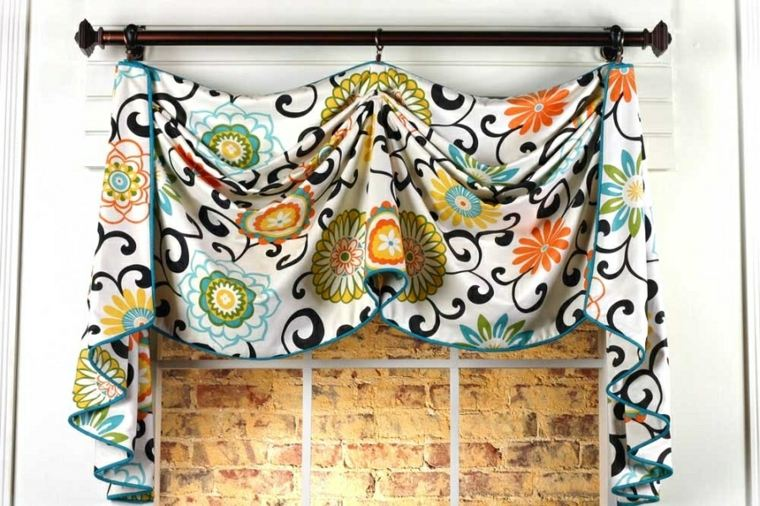 originaln diseño cenefa cortina