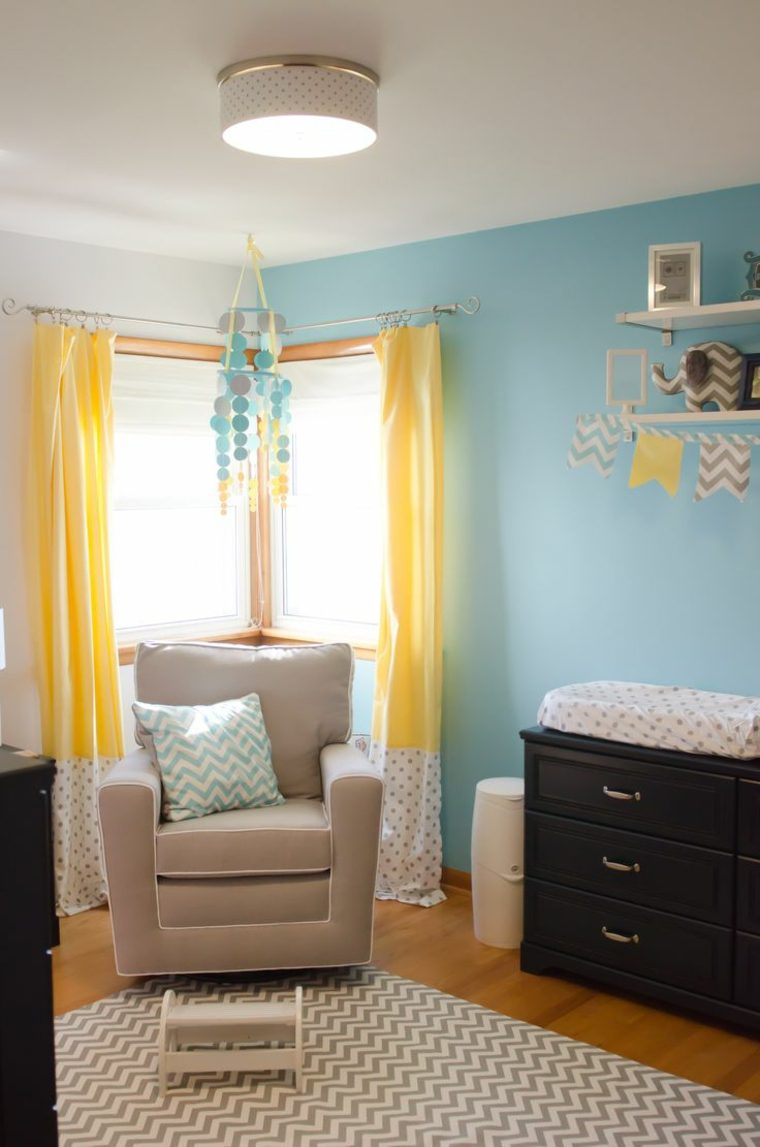 diseos de cortinas para bebs