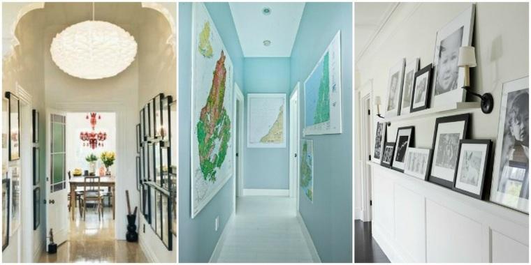 originales diseños decoraciones pasillos