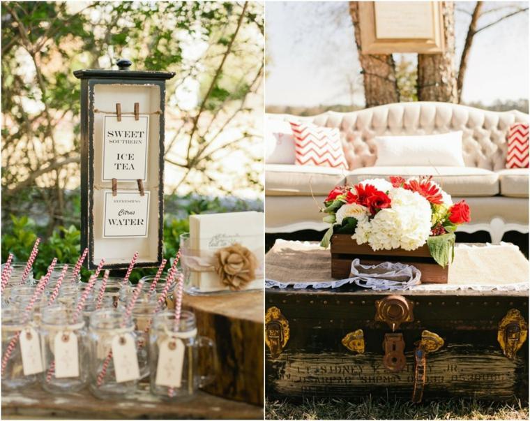 bodas campestres diseños adornos