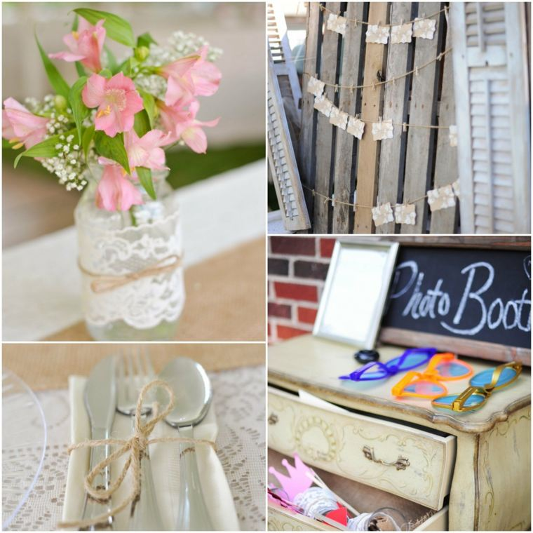 ideas decoración bodas campestres